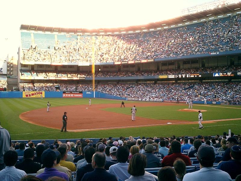 アメリカメジャーリーグ:ヤンキースタジアム