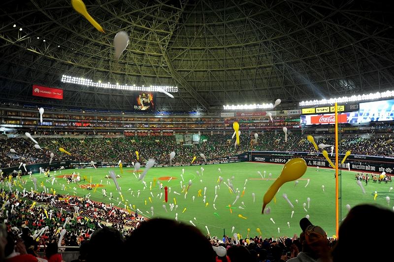 福岡ドーム:ソフトバンクホークス本拠地