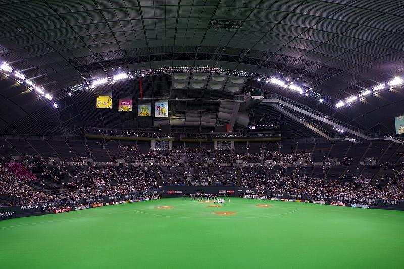 札幌ドーム:北海道日本ハムファイターズ本拠地